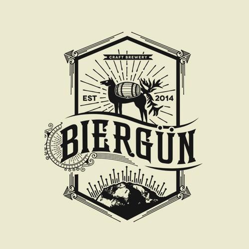 "Logo for Micobrewery ""Biergün"""