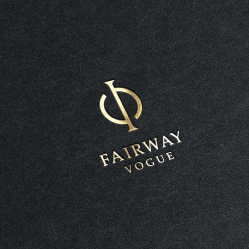 Logo Design option for Womens luxury Golf Apparel