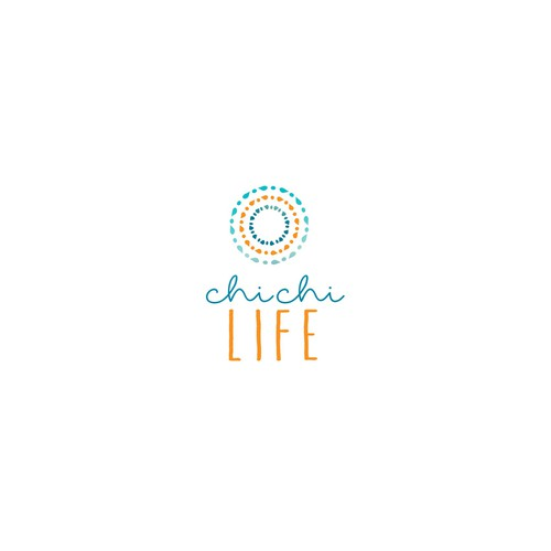 Create a clean + simple design for the energizing lifestyle brand, Chi Chi Life!