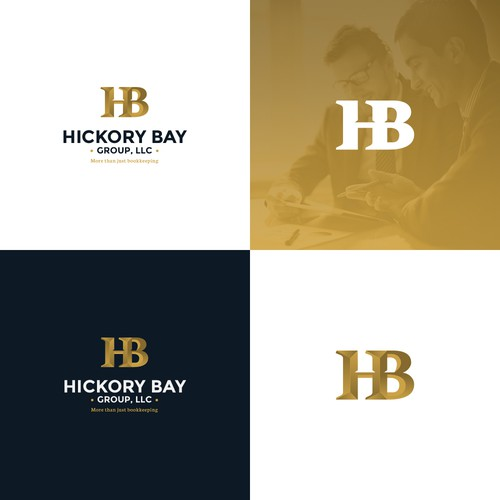 Strong logo design for Bookkeeping company