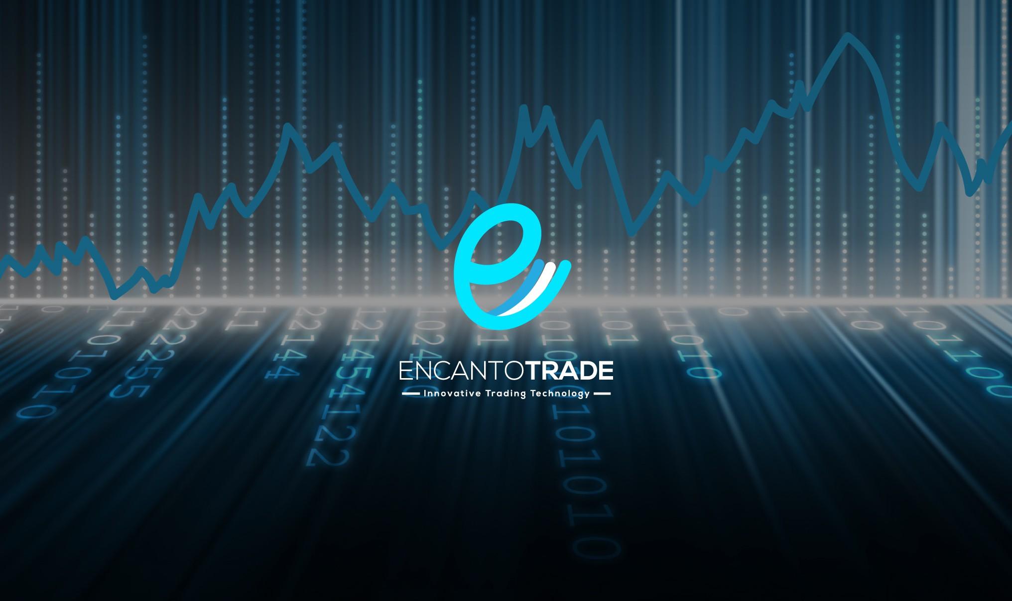create a fancy and elegant logo for encantotrade