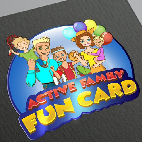 Logo for active family
