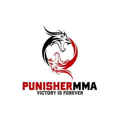 Create the next logo for Punisher MMA