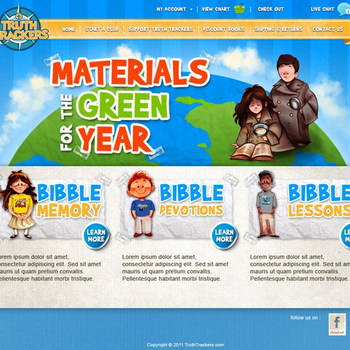 Website Design for Ecommerce Business - Children Books and Awards Retailer