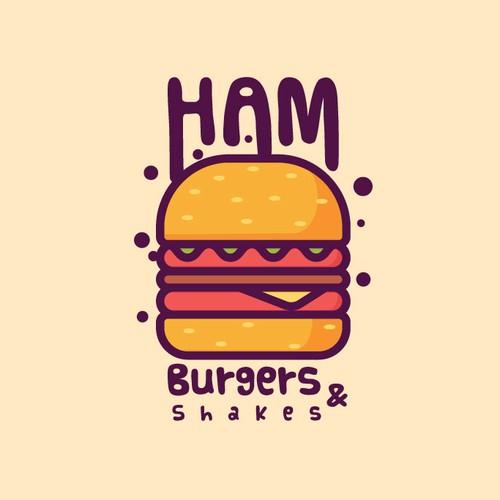 Hamburger Logo Concept