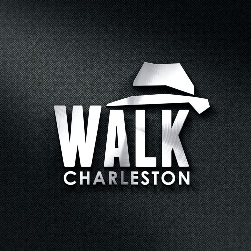 Logo concept for walking tour company in Charleston