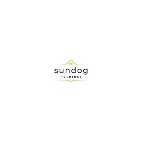 A logo concept for real estate development company