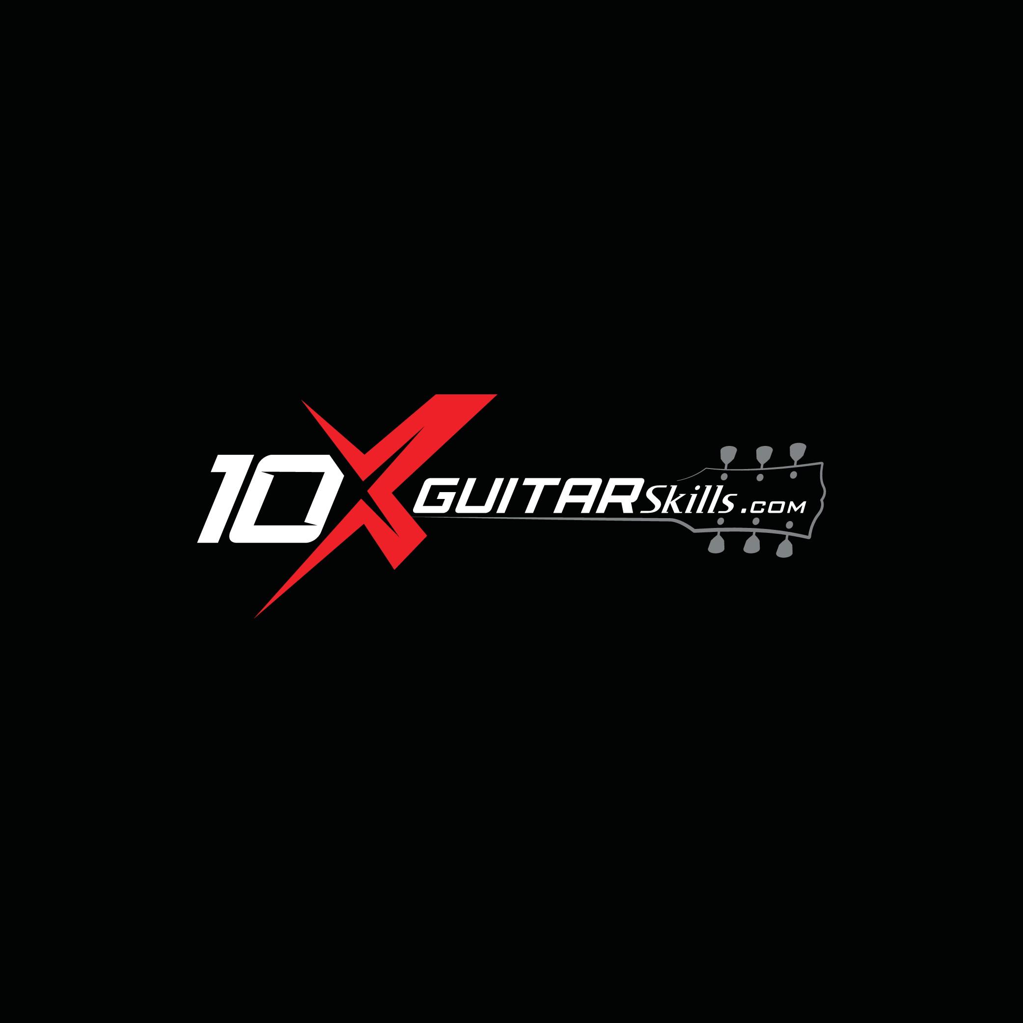 High-tech Rock Guitar website needs powerful logo