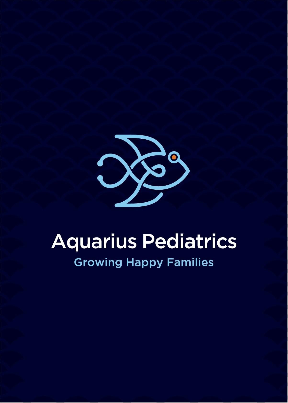 Aquarius Pediatric Business Card
