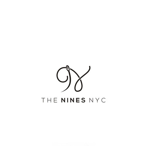 use 9,N for logo The Nines NYC