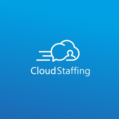 Logo concept for CloudStaffing