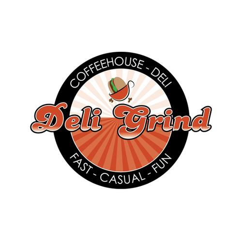 Fun Logo for a Coffee House - Deli