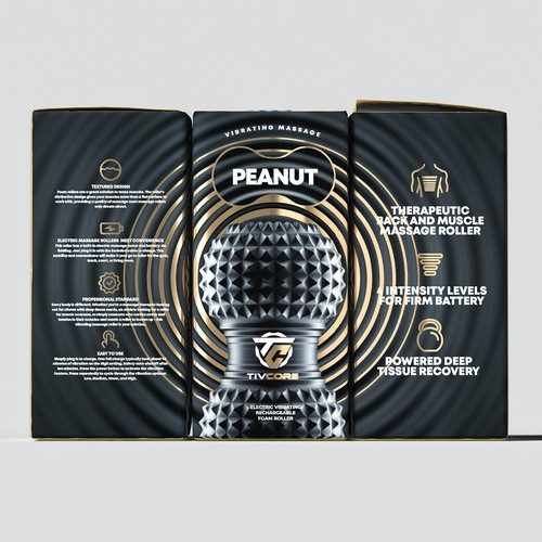 Product Packaging for a Fitness Brand