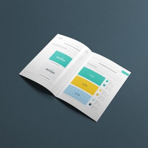 Elegant Brand Guide for Startup
