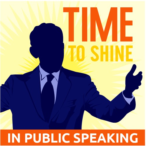 Create podcast cover art for Time to Shine!