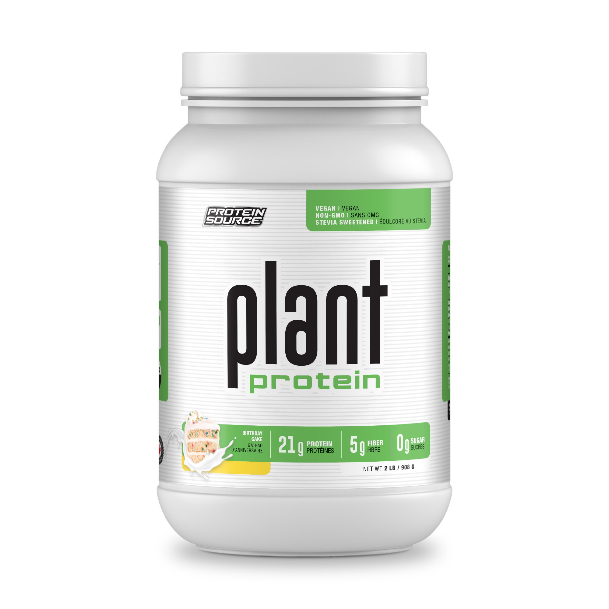 PROTEIN SOURCE - Plant Based Products - 2Lb and 5Lb Labels