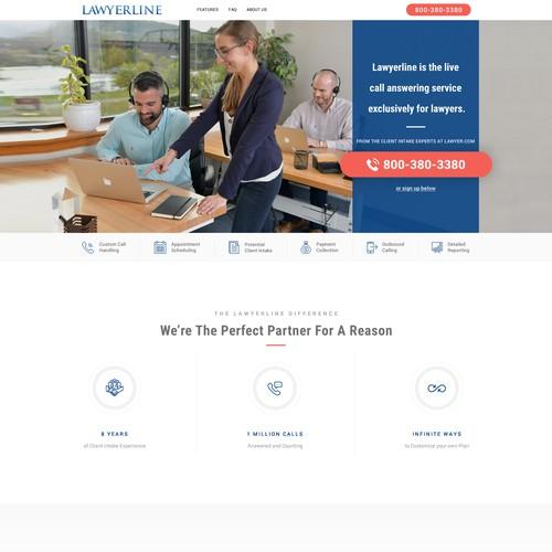 lawerline Inner page Design