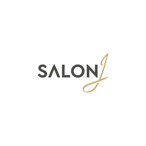 high end salon logo