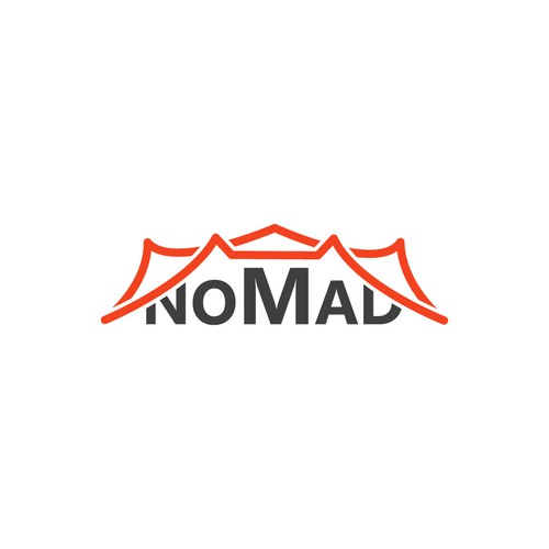 Logo Concept for Nomad Stretch Tents