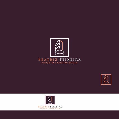 Logo for an architect