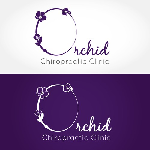 logo for Orchid Chiropractic Clinic