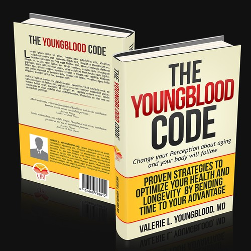 Create a cover that captures attention and explains succinctly The Youngblood Code