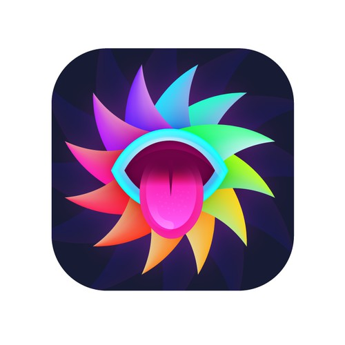 Trippy, Psychedelic App Icon