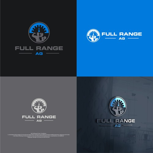 Strong logo concept for Full Range