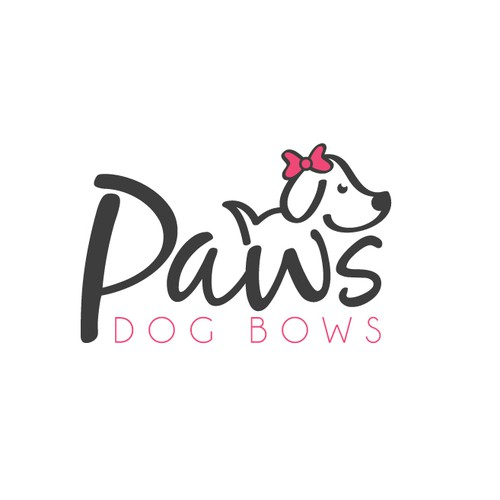 Logo for Paws Dog Bows