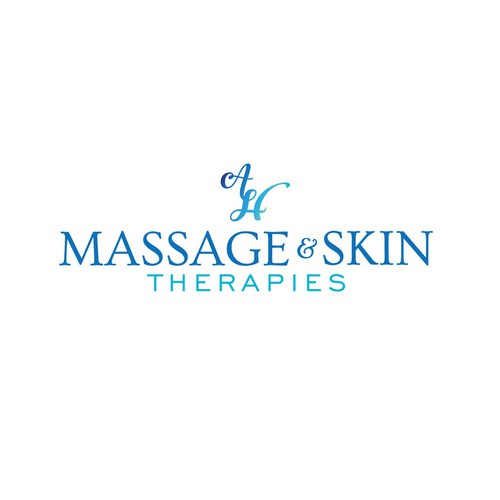 Logo concept for massage & skin therapist
