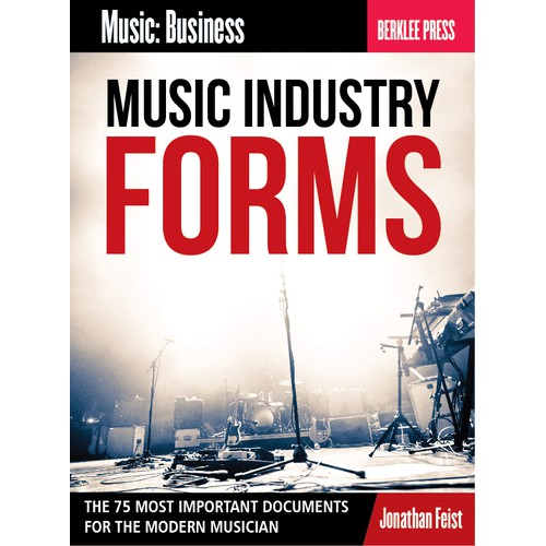 Music Business Book Cover for Berklee College of Music