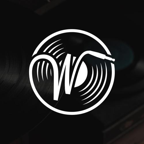 W logo for Wayward Sound Studio.