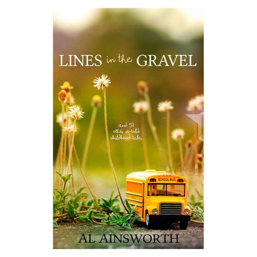 Book cover for a memoir