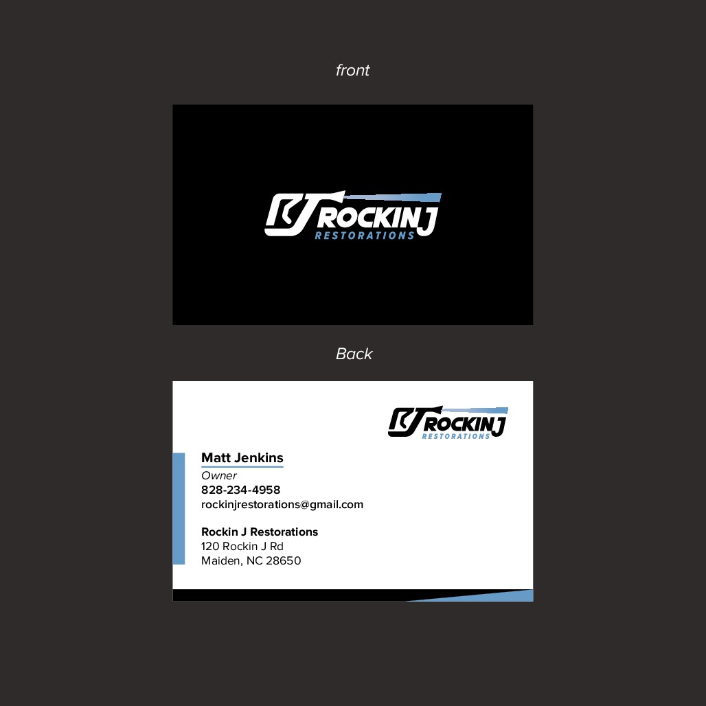 I'll make your simple business card