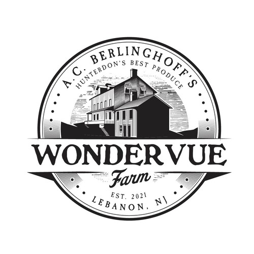 Wondervue Farm New Logo