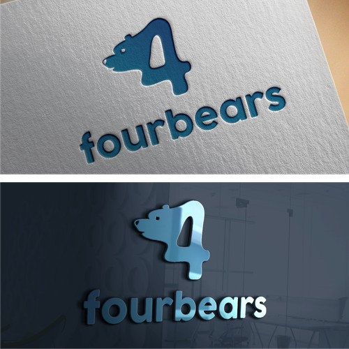 Bear Pictoral logo for fourbears