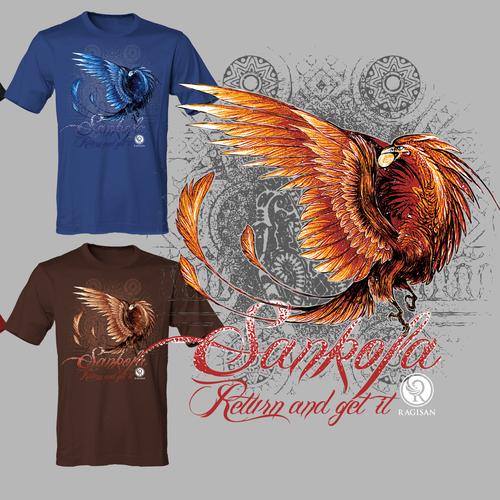 RAGISAN Inaugural T-Shirt Design