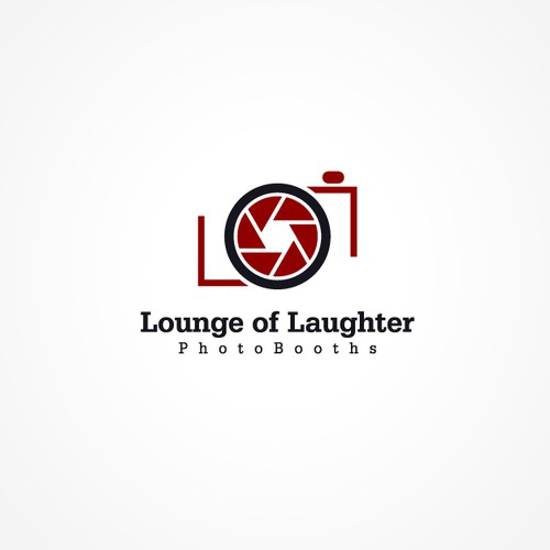 Creative and unique logo for Lounge of Laughter