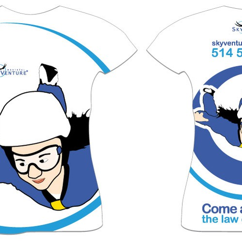 Design T-Shirt - Promote and represent SKYVENTURE MONTREAL