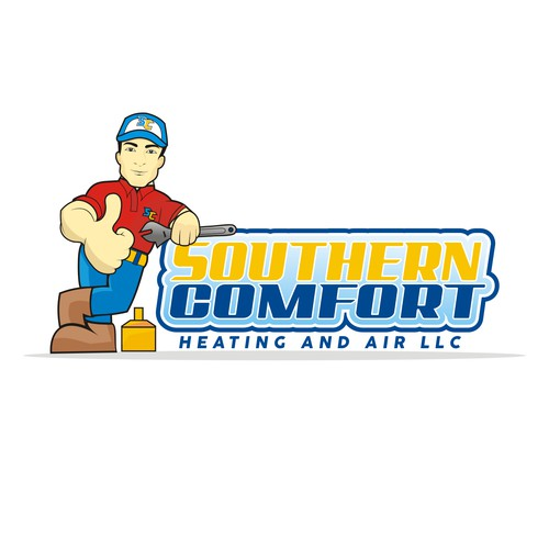 Create the best eye catching heating and air logo ever