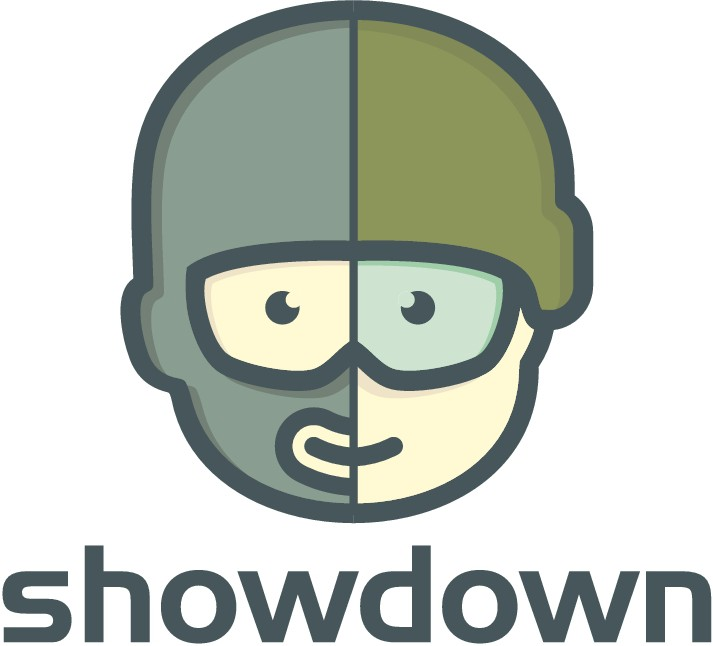 Logo for Showdown - a new platform for competitive video games