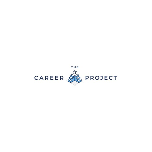 Cool stylish logo design concept for the career project