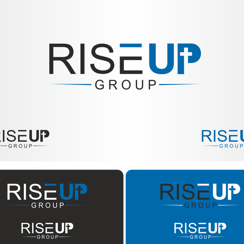 Logo for rise up