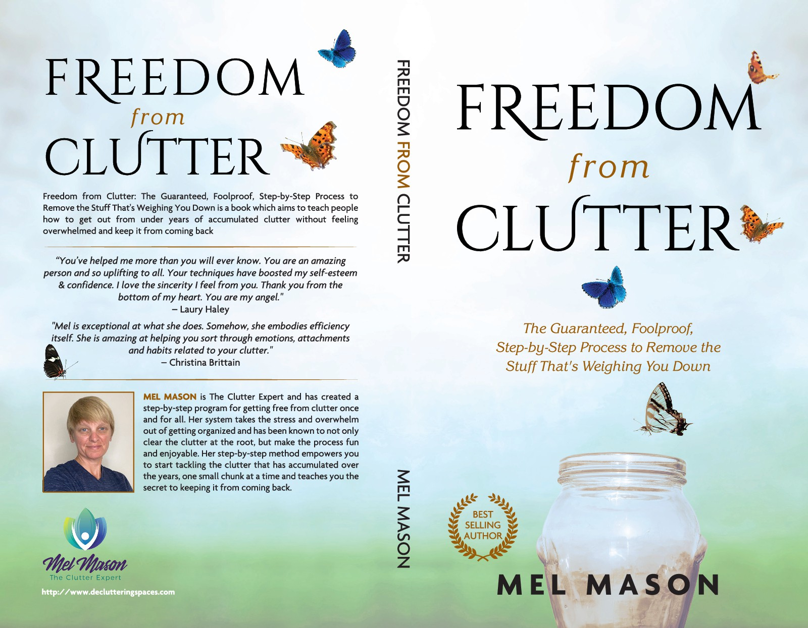 New book on clutter needs appealing, catchy cover