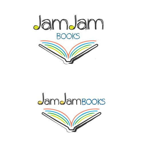 Logo design for children's music books