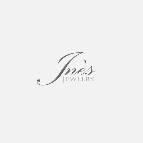 logo design for Inès Jewelry
