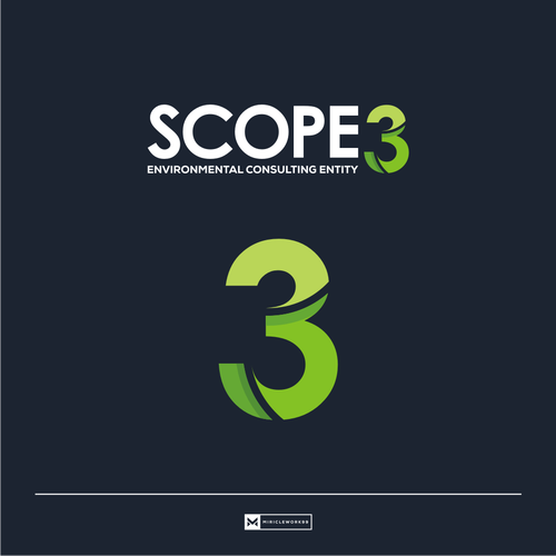 Scope Three wants a logo for an environmental business, thats not cliche