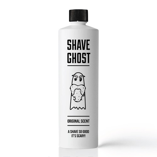 Packaging and labeling for Shave Ghost