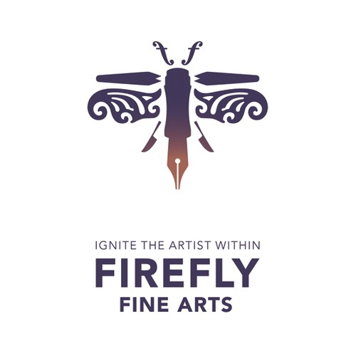 Logo for a fine art academy