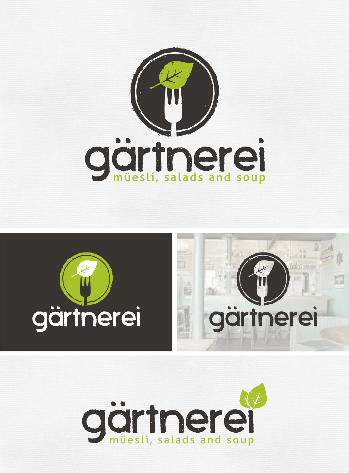 "Create the Logo for our Urban Gardening Restaurant ""Gärtnerei"""